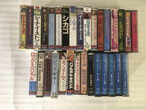 80s洋楽その他 カセットテープ33本セット
