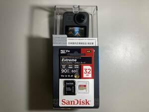 新品未開封★MAX CHDHZ-201-FW アクションカメラ・ウェアラブルカメラ GoPro(ゴープロ) おまけ+32GB microSDHC UHS-I カード