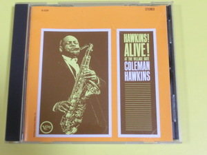 ◆◇CD コールマン・ホーキンス - ジェリコの戦い +2 Coleman Hawkins - Hawkins! Alive! At The Village Gate◇◆408