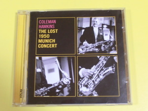 ◆◇CD コールマン・ホーキンス The Lost 1950 Munich Concert 輸入盤◇◆411