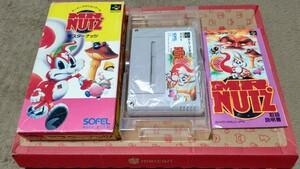 スーパーファミコンソフト Mr.NUTS(ミスターナッツ)