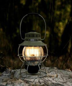 ベアボーンズ レイルロード ランタン オリーブ BAREBONES Railroad Lantern
