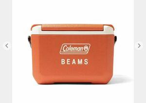 Coleman × BEAMS / 別注 テイク6 クーラーボックスとBEAMS オリジナル フォールディング キャリー ワゴンセット販売です。
