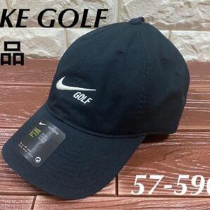 新品 NIKE GOLF(ナイキゴルフ) ヘリテージ 86 ゴルフキャップ NIKE HERITAGE86 メンズキャップ 黒