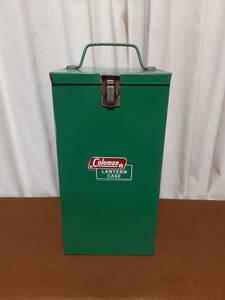 【希少】コールマンスチール製ケース(薄緑色)Mサイズ 21080716