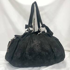 ☆美品 人気のオーブ総柄☆Vivienne Westwood ヴィヴィアン ウエストウッド イタリア製 ショルダーバッグ ハンドバッグ A4 ボストンバッグ