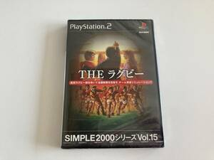 未開封 21-PS2-371 プレイステーション2 THE ラグビー プレステ2 PS2