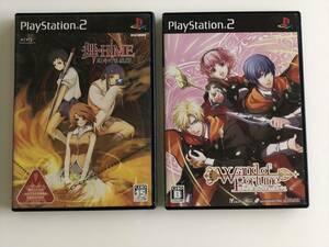 21-PS2-454 動作品 プレイステーション2 舞HIME ワンドオブフォーチュン セット