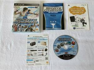 21-PS3-112 動作品 プレイステーション3 スポーツチャンピオン PS3