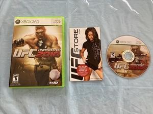 北米版 21-360-06 XBOX360 UFC2010 動作品 箱〇