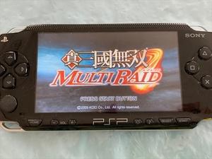 21-PSP-89 プレイステーションポータブル 真・三國無双 MULTI RAID 動作品 PSP