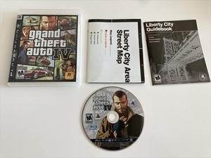 21-PS3-57 動作品 北米版 プレイステーション3 グランドーセフトオート4