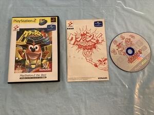 21-PS2-480 動作品 プレイステーション2 クラッシュバンディクー4 Best版 PS2 プレステ2