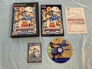 21-PS2-482 動作品 未開封カードあり!! プレイステーション2 テニスの王子様 カードマスター PS2 プレステ2