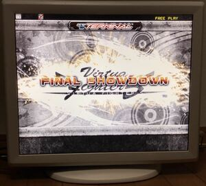 Virtua fighter 5FS. terminal . possible to use touch panel attaching liquid crystal monitor