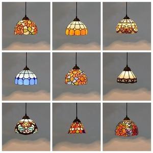 ステンドグラス ガラス工芸品 ペンダントライト 天井照明ステンドグラスランプ