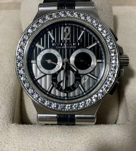 ブルガリ BVLGARI ディアゴノ カリブロ303 腕時計 メンズ