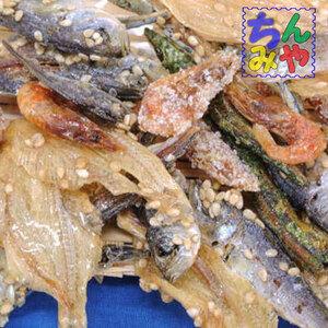 五色煮(おまとめ100g×2p)お菓子感覚の食べる小魚ミックス(水飴甘味付き)♪食べる雑魚カルシューム補給!食べる煮干しこれ【送料込】