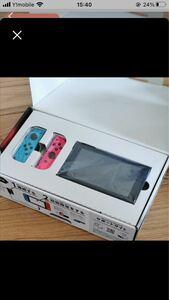 貴重な未対策機、美品ニンテンドースイッチ本体 Nintendo Switch 任天堂 ネオンブルー ネオンピンク