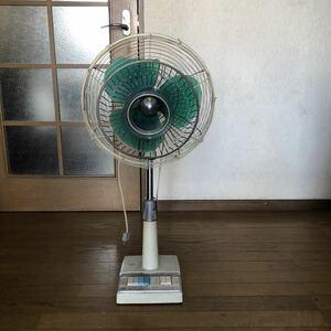 ナショナル 昭和レトロ 扇風機