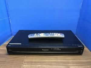 パナソニック DVD/HDDレコーダー DMR-XW120 リモコン付 中古品B-1021