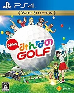 New みんなのGOLF Value Selection/PS4(中古)