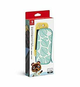 【任天堂純正品】Nintendo Switch Liteキャリングケース あつまれ どうぶつの森エディション ~たぬきアロハ柄~
