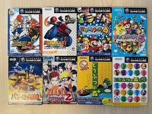 ゲームキューブ ソフト8本セット