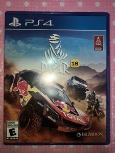 送料無料 即決 PS4 DAKAR 18 ダカール 18 北米版 動作確認済 PlayStation4 プレイステーション4 プレステ4 クーポン利用