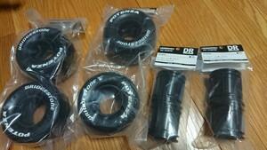 ⑦4黒 CW-01 WR-02 G6-01 ワイルドウィリー2 スリックタイヤ ホイール付き ランチボックス ミッドナイトパンプキ