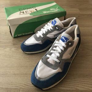 珍品 80s puma DESTINY Ⅱ 未使用 vintage スニーカー ビンテージ adidas nike ランニングシューズ 90s デッドストック