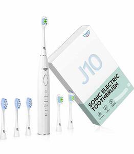 電動歯ブラシ 音波歯ブラシ ホワイトニング 歯周病予防 USB充電式 歯石取り