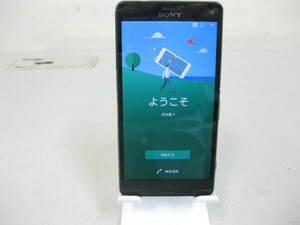 ◇docomo SONY Xperia Z3 Compact SO-02G◇ブラック◇判定○ K0034