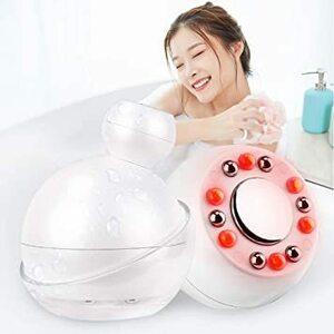 IPX7防水仕様 【最新モデル・防水仕様】キャビテーション 家庭用 超音波痩身美顔器 セルライト除去 IPX7 防水構造 1台4