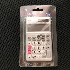 電卓 手帳サイズ 収納ケース付き