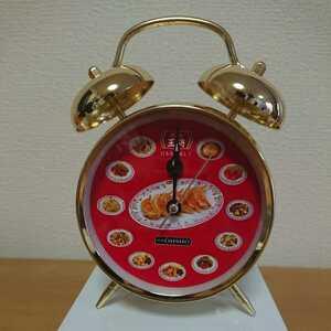 【未使用】餃子の王将★目覚まし時計★非売品★ノベルティ★置時計★インテリア★