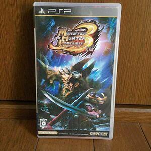 PSPソフト:モンスターハンター ポータブル3rd:MHP3 カプコン CAPCOM モンハン UMD MONSTER HUNTER Portable 3rd ゲームソフト