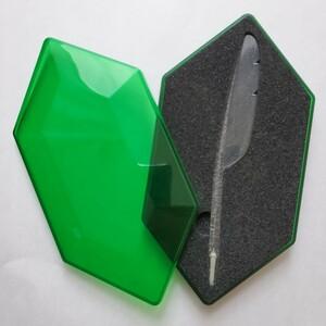 NINTENDO DS ゼルダの伝説 大地の汽笛 羽ペン型オリジナルタッチペン