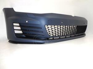■ ワーゲン ゴルフ 7 GTI AU AUCHH 2013~ フロント バンパー フォグ グリル スポイラー エアロ ボディ キット
