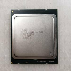【中古パーツ】【CPU】複数可まとめ買いと送料がお得!!(在庫1枚) Intel Xeon E5-2640 SR0KP 2.50GHz ■CPU E5-2640