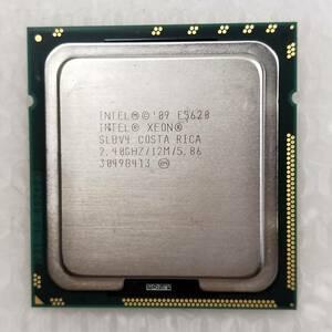 【中古パーツ】【CPU】複数可まとめ買いと送料がお得!!(在庫1枚) Intel Xeon E5620 SLBV4 2.40GHz ■CPU E5620