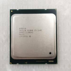 【中古パーツ】【CPU】複数可まとめ買いと送料がお得!!(在庫1枚) Intel Xeon E5-1603 SR0L9 2.80GHz ■CPU E5-1603