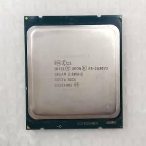 【中古パーツ】【CPU】複数可まとめ買いと送料がお得!!(在庫1枚) Intel Xeon E5-2630V2 SR1AM 2.60GHz ■CPU E5-2630V2