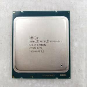 【中古パーツ】【CPU】複数可まとめ買いと送料がお得!!(在庫1枚) Intel Xeon E5-2603V2 SR1AY 1.80GHz ■CPU E5-2603V2