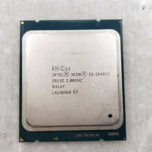 【中古パーツ】【CPU】複数可まとめ買いと送料がお得!!(在庫1枚) Intel Xeon E5-2640V2 SR19Z 2.00GHz ■CPU E5-2640V2