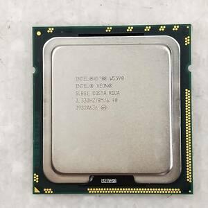 【中古パーツ】【CPU】複数可まとめ買いと送料がお得!!(在庫1枚) Intel XEON W5590 SLBGE 3.33GHz ■CPU W5590