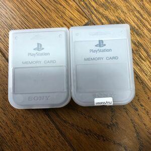 PS1 メモリーカード
