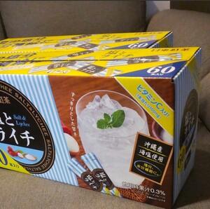 日東紅茶 塩とライチ 60本入り×2箱