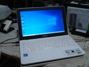 Windows10 Intel N3050 メモリ2GB SSD128GB 11.6インチNETBOOK ASUS R206S 送料無料