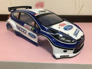 送料無料 HPI フォード フィエスタ RS WRC モンテカルロ ラジコン ボディ ラリーカー 1/8? 1/10? FORD FIESTA ドリフト DRIFT RC BODY